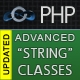 Extended PHP strings processing library